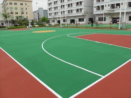 硅PU塑胶篮球场